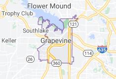 grapevine texas map